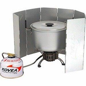 Газовая горелка со шлангом подачи топлива и ветрозащитой