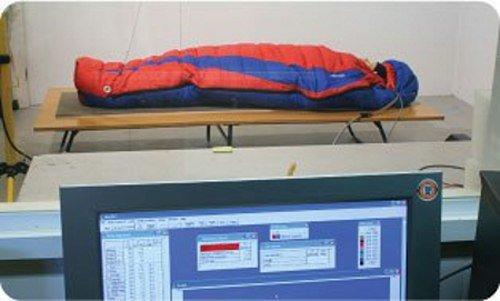 Тестирование спального мешка