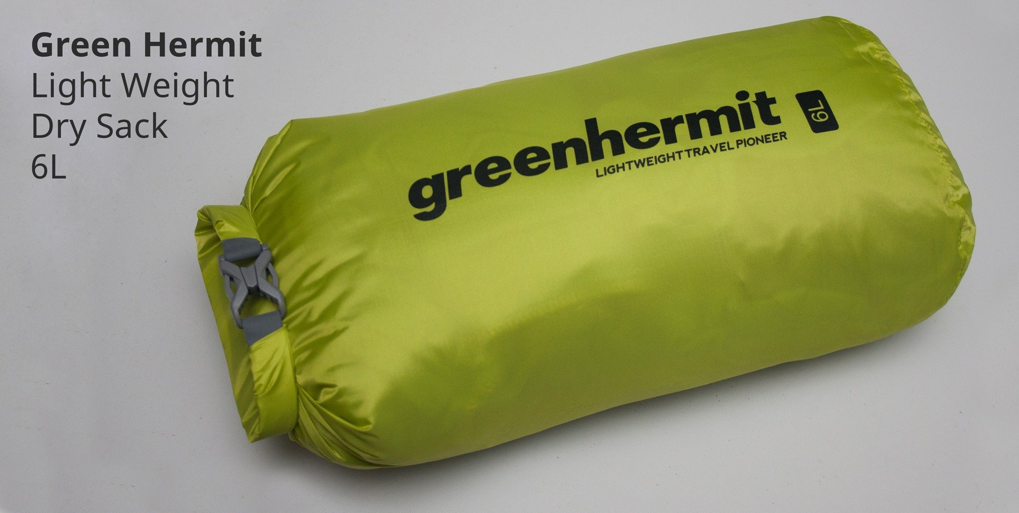 Green Hermit Lightweight Dry Sack 6L