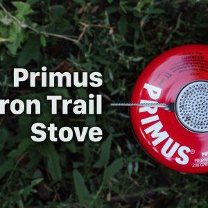 Обзор горелки Primus Micron Trail Stove