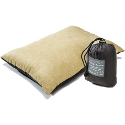 Подушка COCOON Travel Pillow Nylon/Brushed Microfiber L