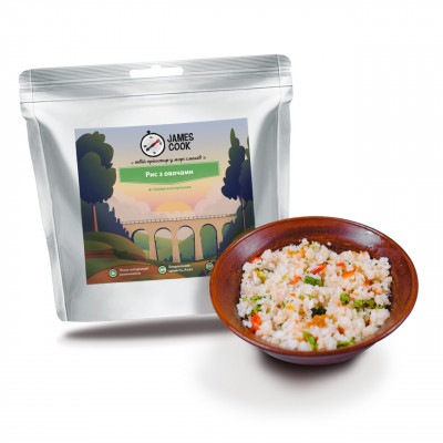 Каша рисова з овочами James Cook
