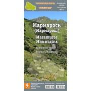 """Туристична карта """"Мармароси"""" (2021)"""