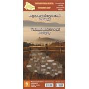 """Туристична карта """"Верхньодністровські Бескиди"""" (2020)"""
