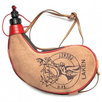 Фляга Laken Leather Canteen 0.5L Kidney