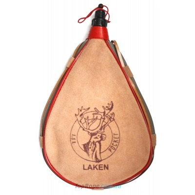 Фляга Laken Leather Canteen 1.5L Straight