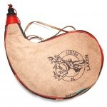 Фляга Laken Leather Canteen 2L Kidney