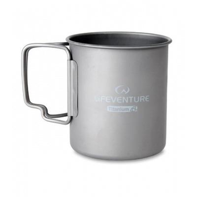 Кухоль Lifeventure Titanium Mug (титан)