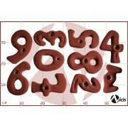 Комплект зацеп Nicis Numbers (10 шт.)