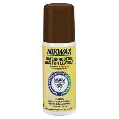 Просочення для взуття Nikwax Waterproofing Wax For Leather (коричневий) 125ml