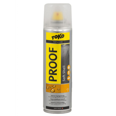 Пропитка для софтшелов Toko Soft Shell Proof 250ml (спрей)